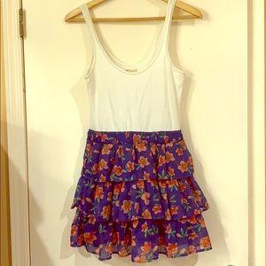 Hollister Social Stretch Ruffle Dress, Large
